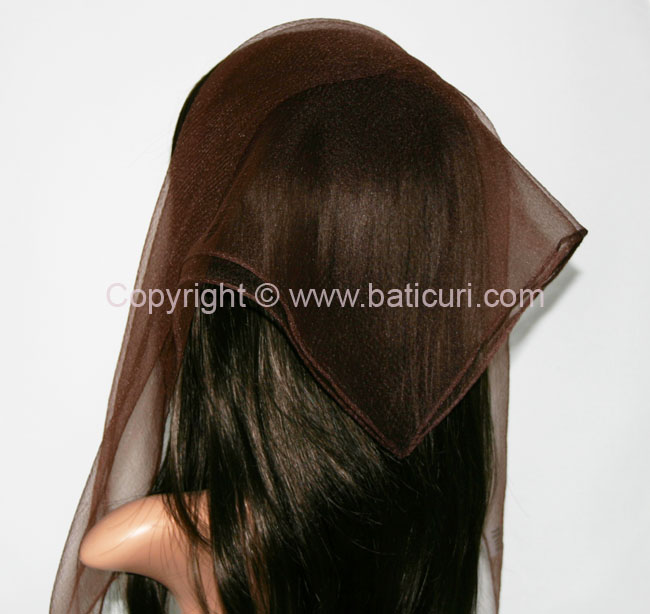 01-139 Square Solid-Chocolate brown